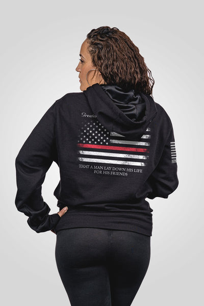 Tailgater Hoodie - Thin Red Line