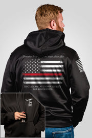 Athletic Tailgater Hoodie - Thin Red Line