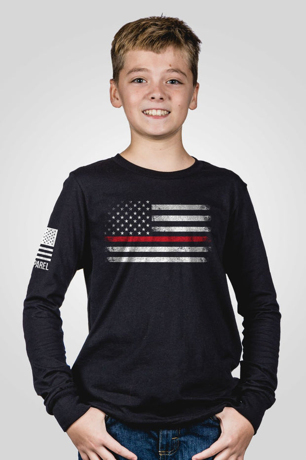Youth Long Sleeve - Thin Red Line