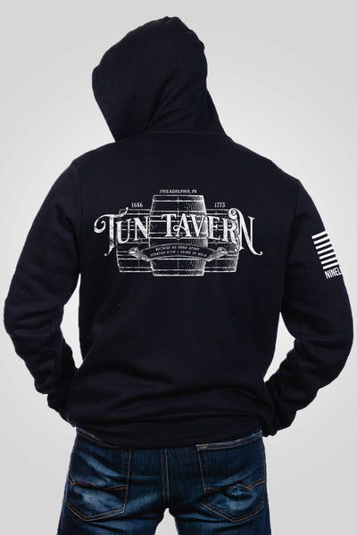 Men's Full-Zip Hoodie - Tun Tavern
