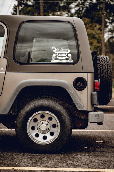 Vinyl Decal - Go Topless