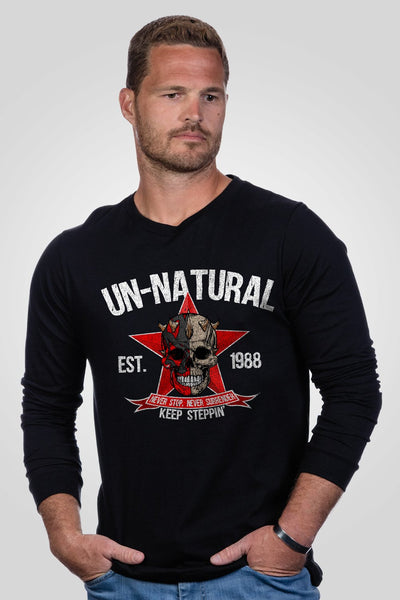 Men's Long Sleeve - Dustin Rhodes- Unnatural
