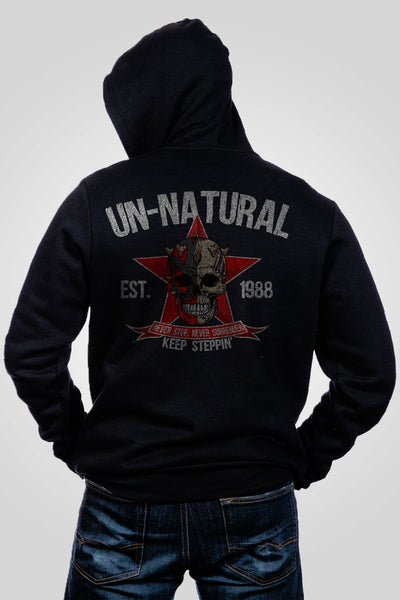 Men's Full-Zip Hoodie - Dustin Rhodes- Unnatural