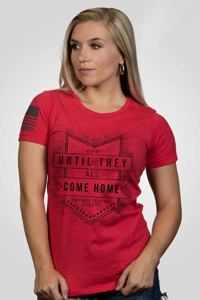 Women's Junior Fit T-Shirt - Until They All Come Home [Patriots Club Exclusive]