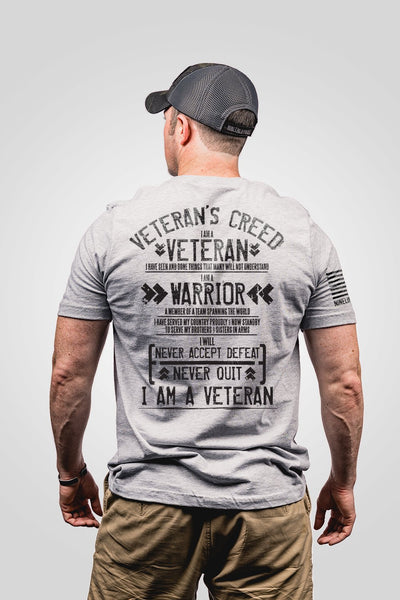 Seasonal Men's T-Shirt - Veterans Creed