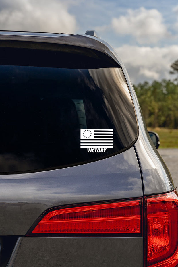 Betsy Ross Victory Decal
