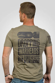 Men's T-Shirt - Warheads on Foreheads