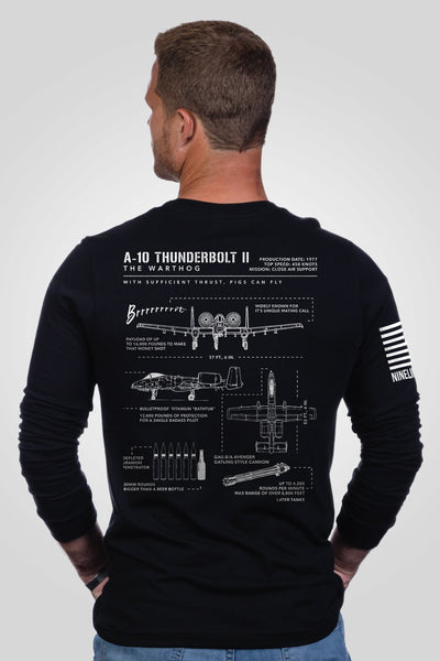 Men's Long Sleeve - Warthog Schematic