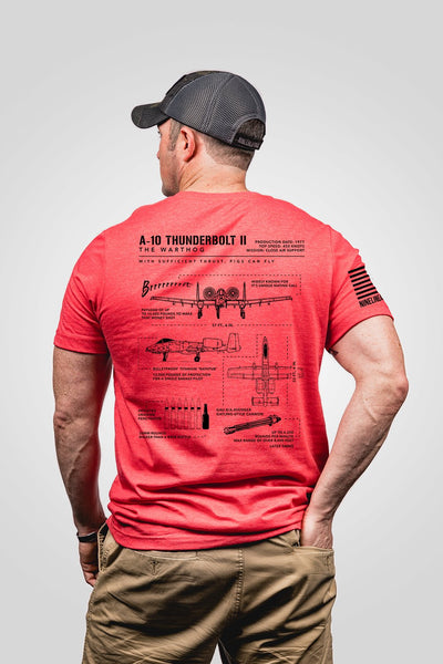 Seasonal Men's T-Shirt - Warthog Schematic