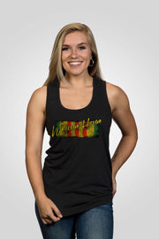 Women's Racerback Tank - Welcome Home
