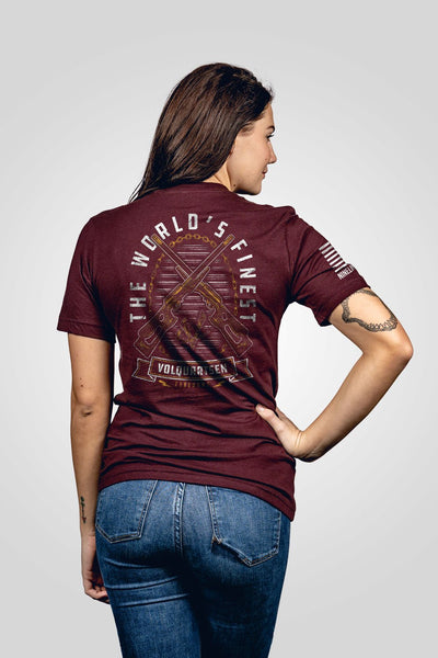 Seasonal Boyfriend Fit T-Shirt - Volquartsen Firearms