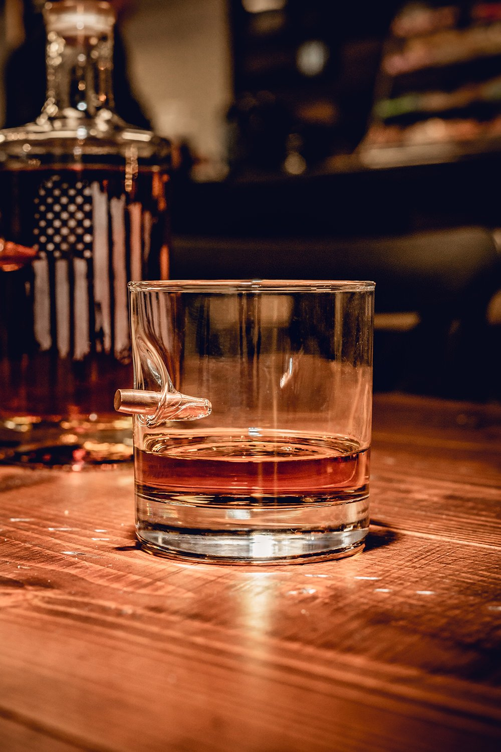 American Made 308 Whiskey Glass