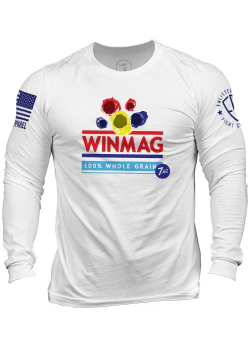 Enlisted 9 - Men's Long Sleeve - WinMag