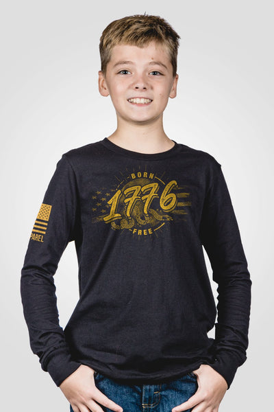 Youth Long Sleeve - We are born free
