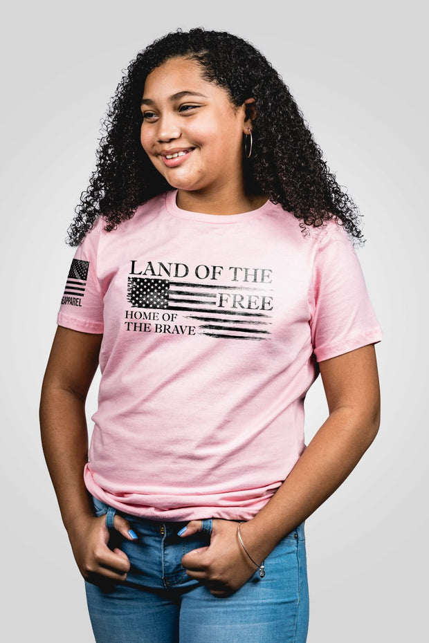 2956d8f968f13 Youth T-Shirt - Home of the Brave – Nine Line Apparel