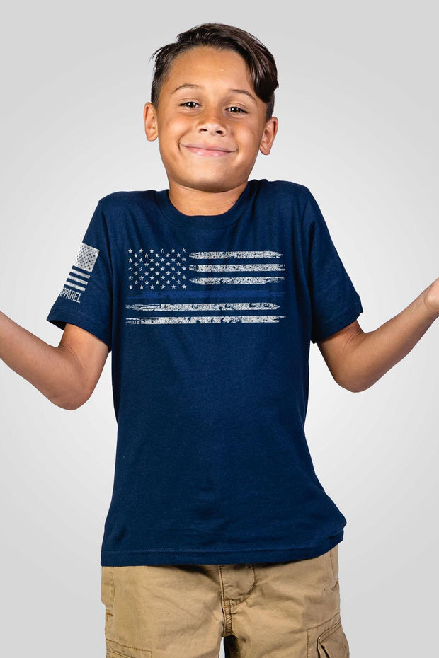 Youth T-Shirt - Thin Blue Line