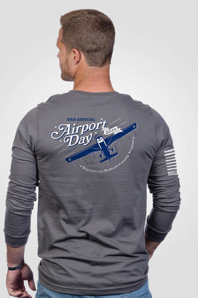 Men's Long Sleeve - Airport Day