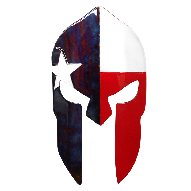 Molten Metal Sign - Texas Spartan