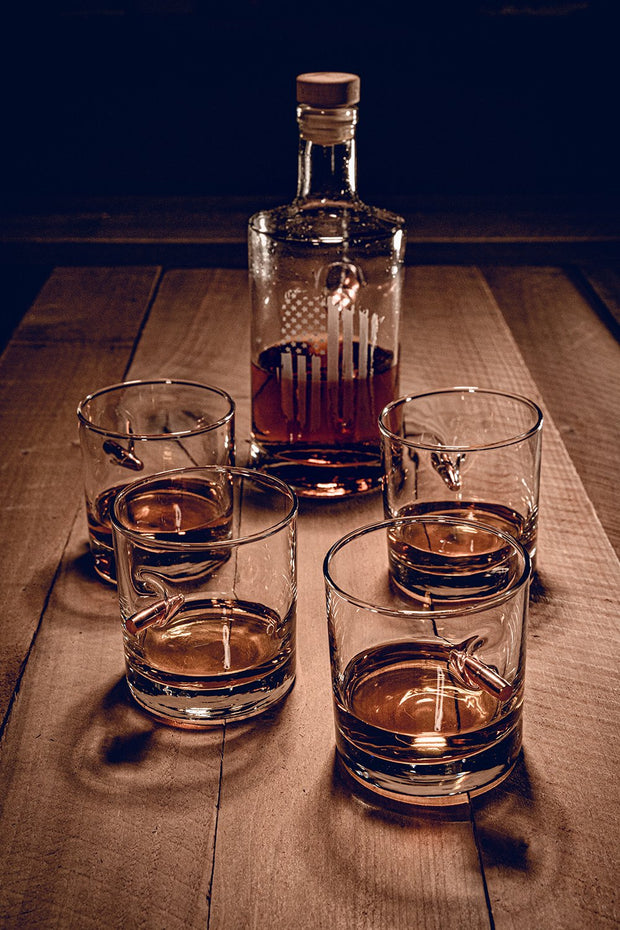 Decanter and Whiskey Glass Bundle