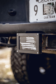 Brake Activated Hitch Covers
