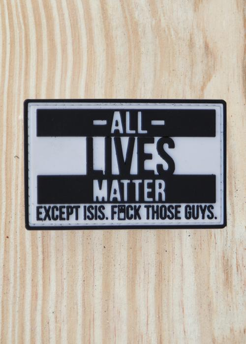 All Lives Matter PVC Patch