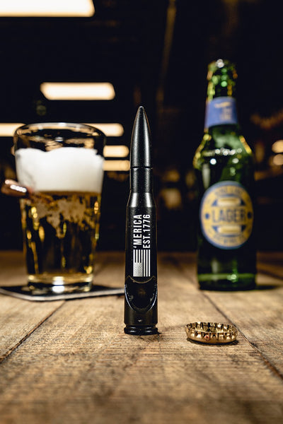 Nine Line 50 cal Bottle Opener - Black