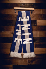 Nine Line Knit Scarf