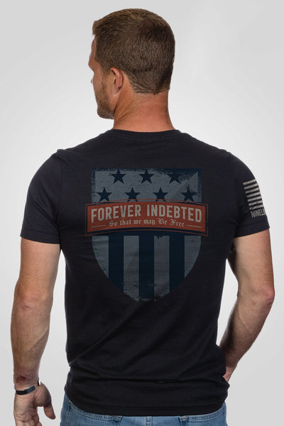 Men's T-Shirt - Forever Indebted [Patriots Club Exclusive]