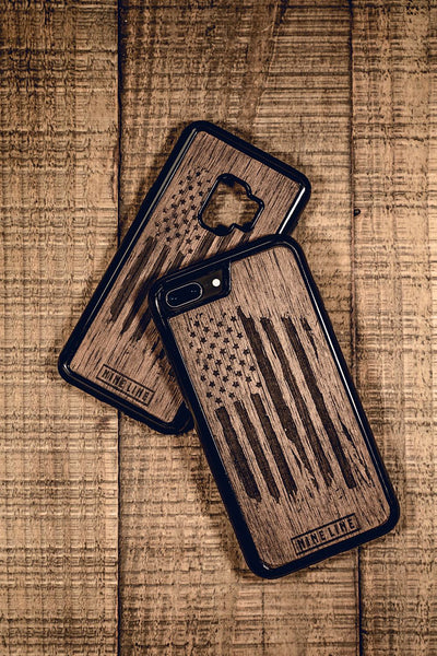 Wooden America Phone Case - iPhone and Android
