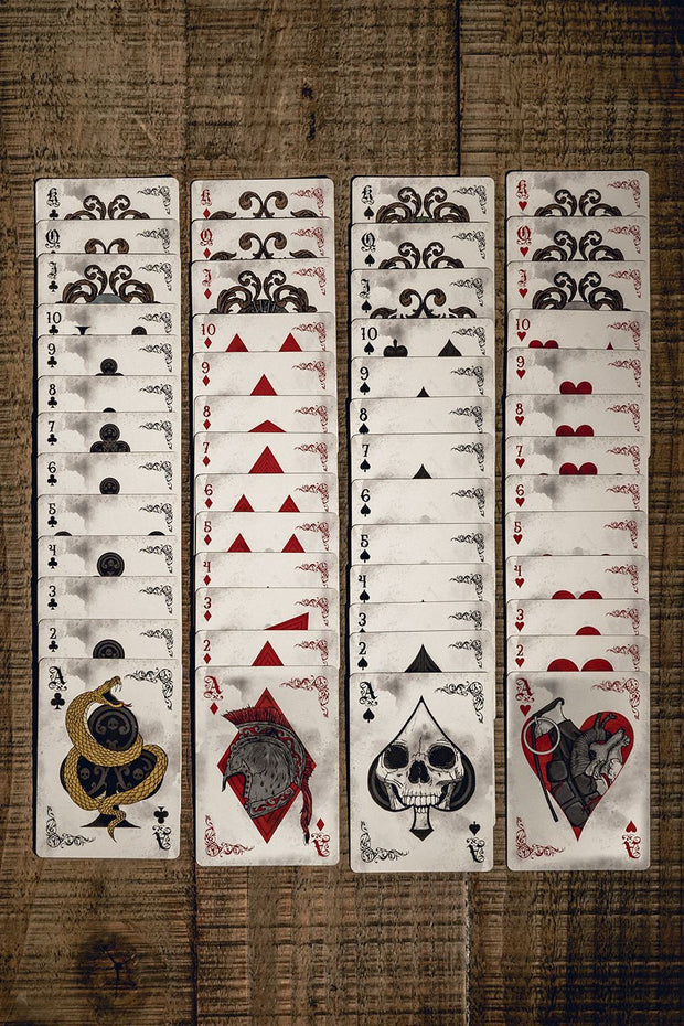 Nine Line Poker Deck