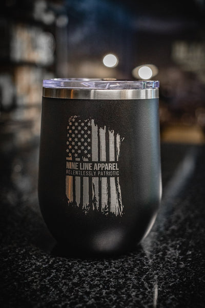 12oz Stemless Wine Insulated Tumbler - America