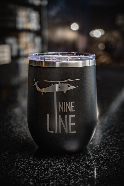 12oz Stemless Wine Tumbler - Drop Line