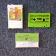 Load image into Gallery viewer, JAKE ANDERSON 'memory excellence: selections 1989 - 2018' cassette