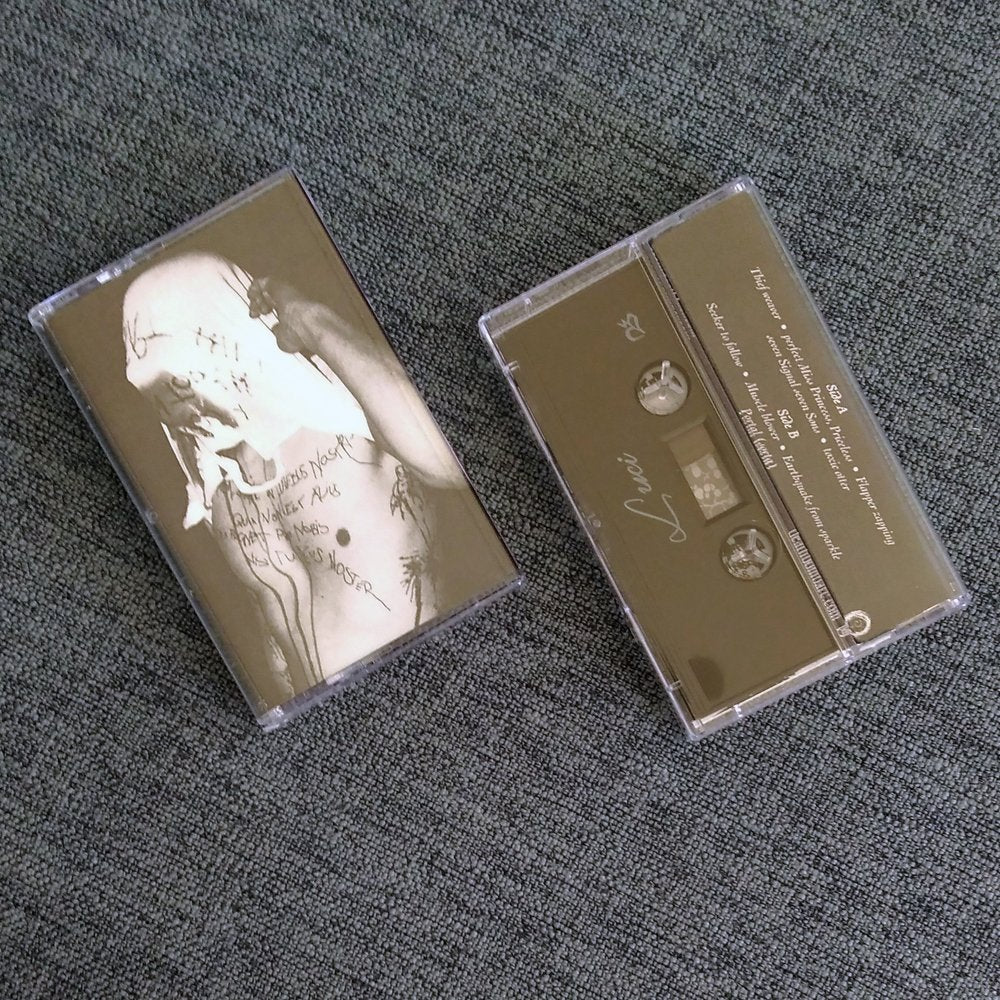 LUCI 'church of the white devil vol. 1' cassette