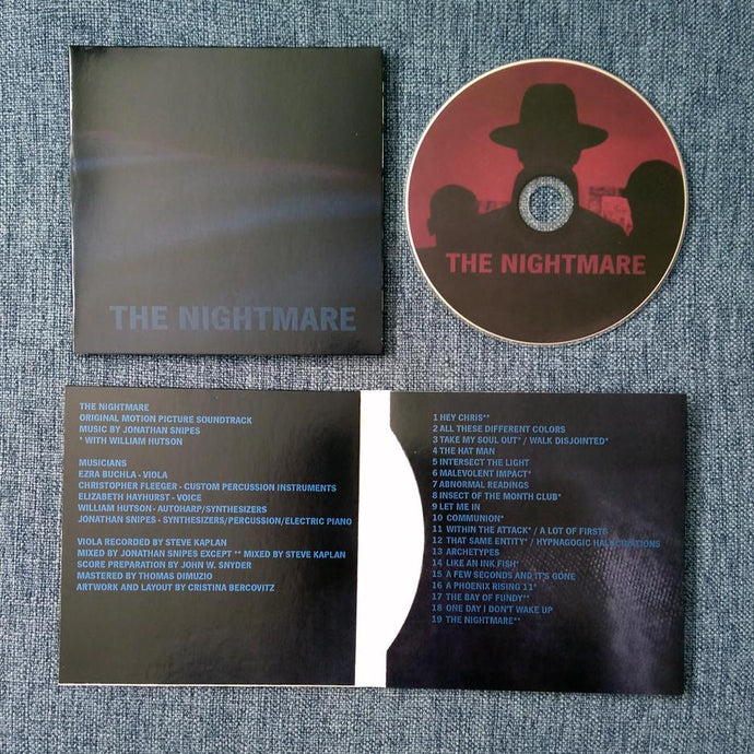 JONATHAN SNIPES 'the nightmare' ost cd