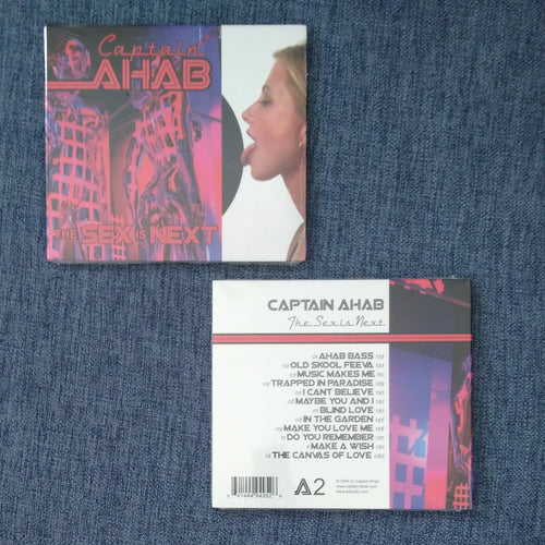 CAPTAIN AHAB 'the sex is next' cd