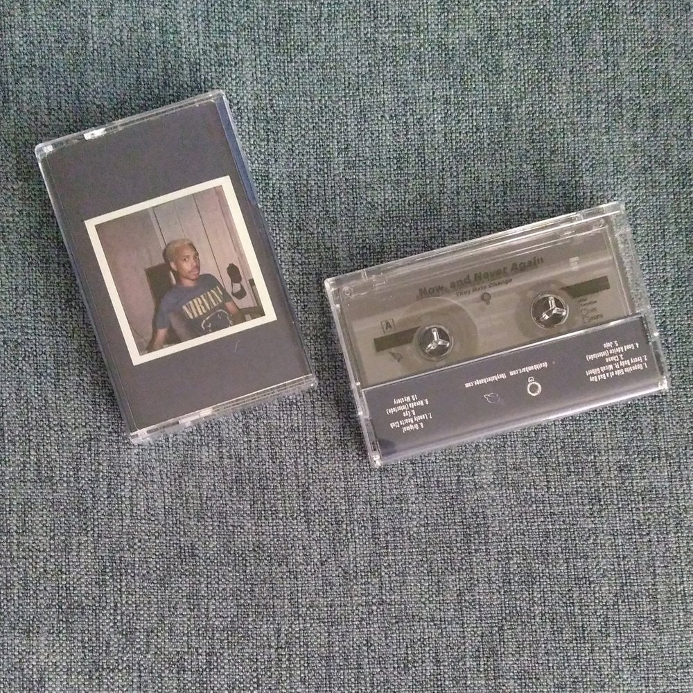 THEY HATE CHANGE 'now, and never again' cassette