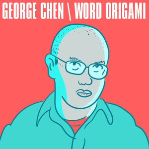 GEORGE CHEN 'word origami [deluxe edition]' double cassette