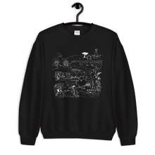 Load image into Gallery viewer, DUNGEONS & DEATHBOMBS unisex sweatshirts