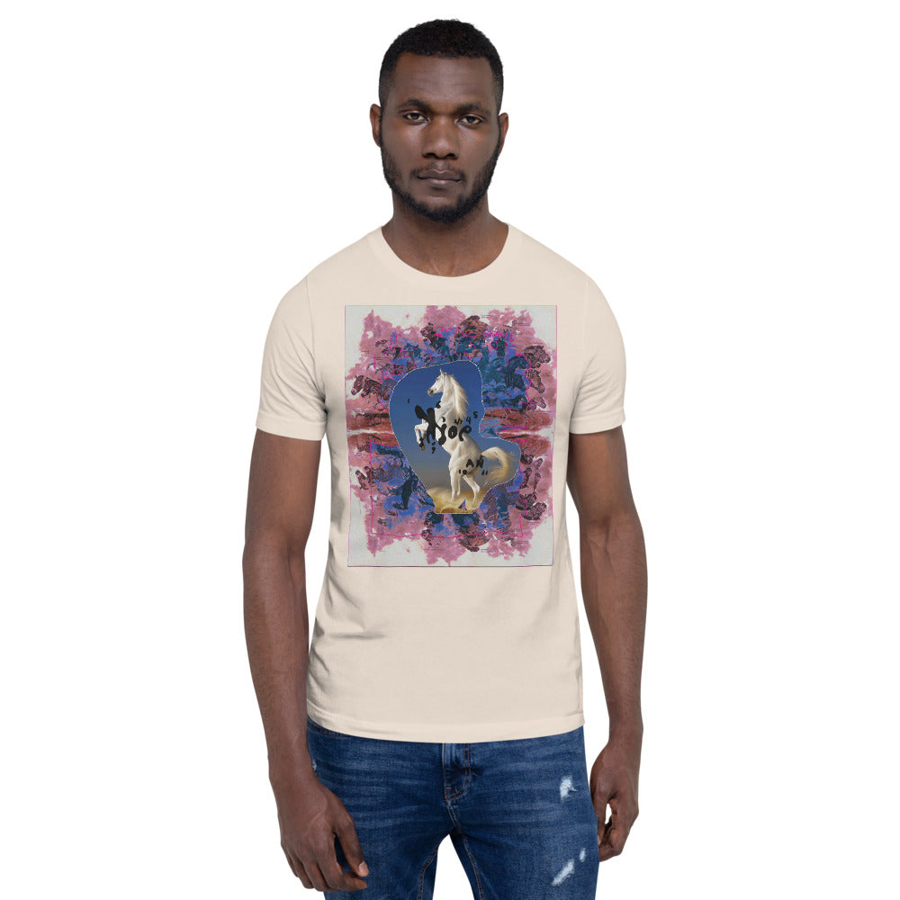 ROSE FOR BOHDAN 'let the universe howl' Unisex T-Shirt