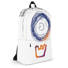 Load image into Gallery viewer, DEATHBOMB ARC sunset logo backpack