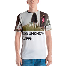 Load image into Gallery viewer, GENRES UNKNOWN all over print tee