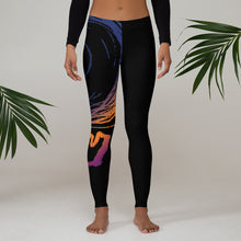 Load image into Gallery viewer, DEATHBOMB SUNSET leggings (black variant)