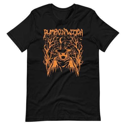 PUMPKIN WITCH deathbomb exclusive tee (Orange edition)