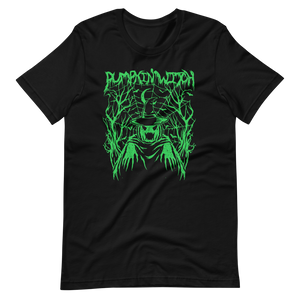 PUMPKIN WITCH deathbomb exclusive tee (Green Edition)