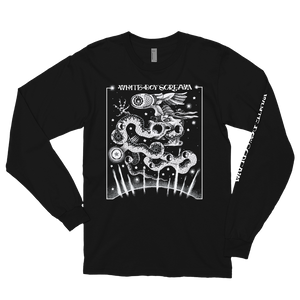 WHITE BOY SCREAM 'bakunawa' long sleeve tee
