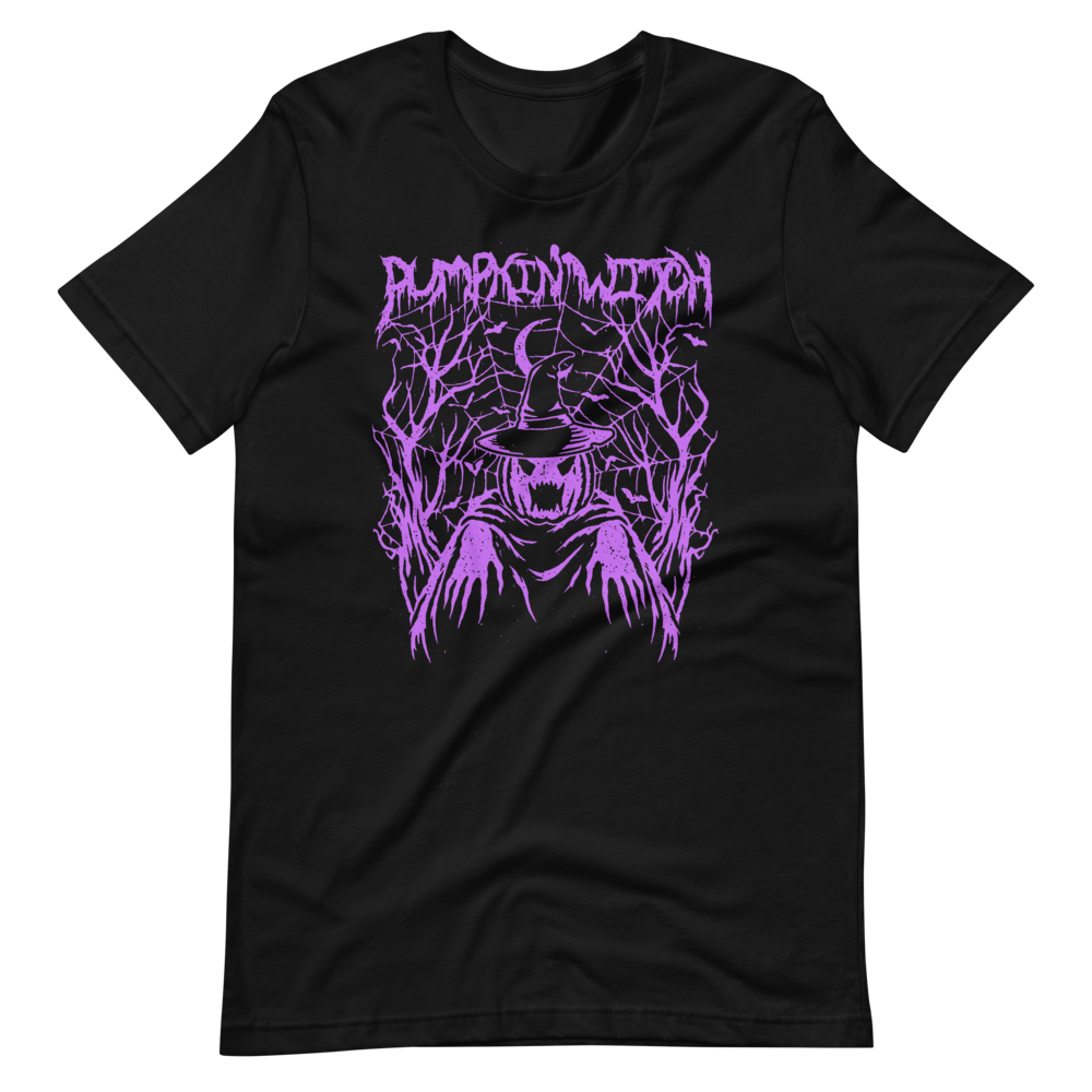 PUMPKIN WITCH deathbomb exclusive tee (Purple Edition)