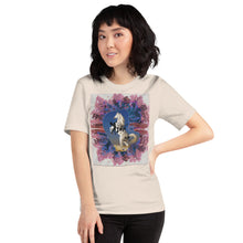 Load image into Gallery viewer, ROSE FOR BOHDAN 'let the universe howl' Unisex T-Shirt