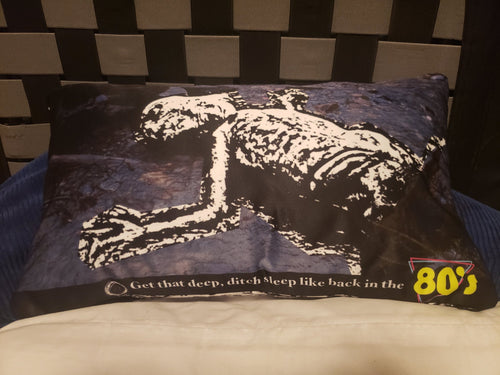 DEEP DITCH DEATHBOMB pillowcase