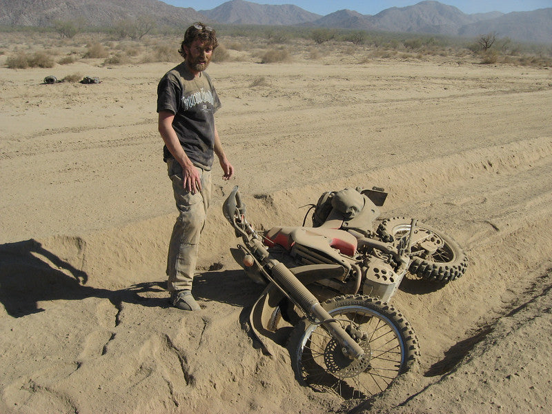 gl dualsport saddlebag tested in baja